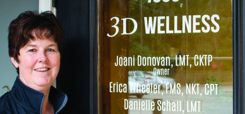 3D Wellness Designs Treatment Plans Tailored To Client's Goals | 3D Wellness, Joani Donovan, Village Green