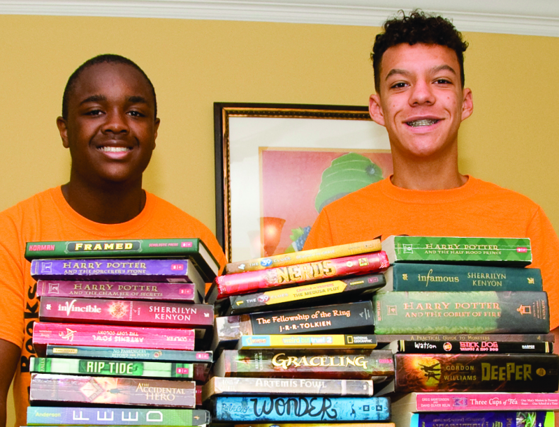 OHHS Students Collect 1,400 Books For Underprivileged Children