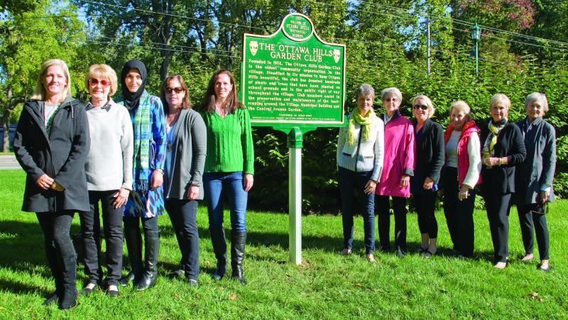 Historical Marker Honors Ottawa Hills Garden Club