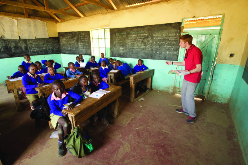 OHHS Students Spend 3 Weeks Teaching, Building, In Kenya