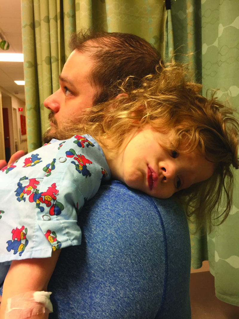 Super Hero: As 3-Year-Old Fights For Her Life, Village Rallies Around Family